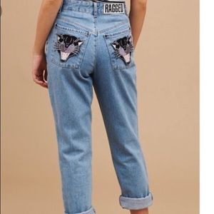 Rare The Ragged Priest Jeopardy Mom Jeans. EUC